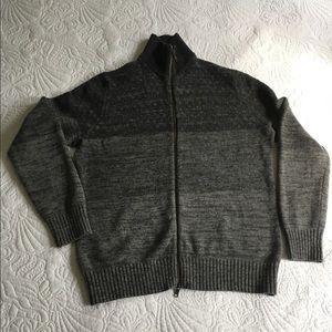 Banana Republic Ombré, Zip-Front Sweater Like-New!
